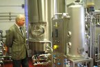 Visit to Wrexham Lager Brewery 2012
