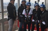 Young Patron Freefall Abseil