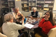 Young Patrons Rummikub Evening at Cherry Tree Court