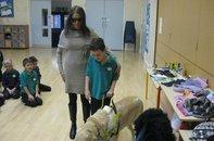 Clore Shalom School Visit