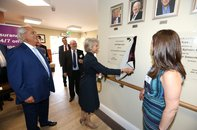 Royal Opening of Cecil Rosen Court, Bushey Heath