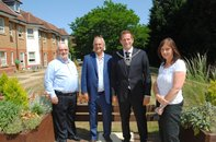 Visit from new Mayor of Barnet